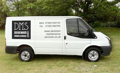 Property Maintenance van